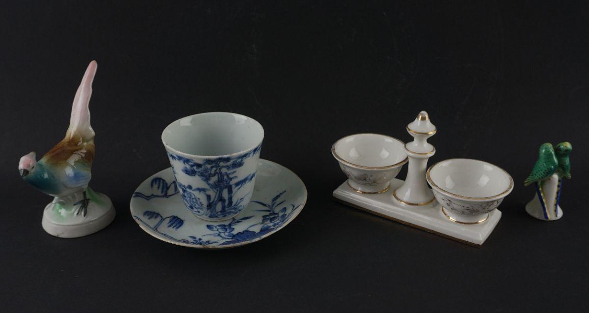 Lote de peças em porcelana