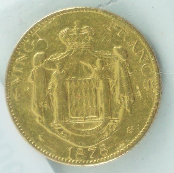 20 Francos de Mónaco