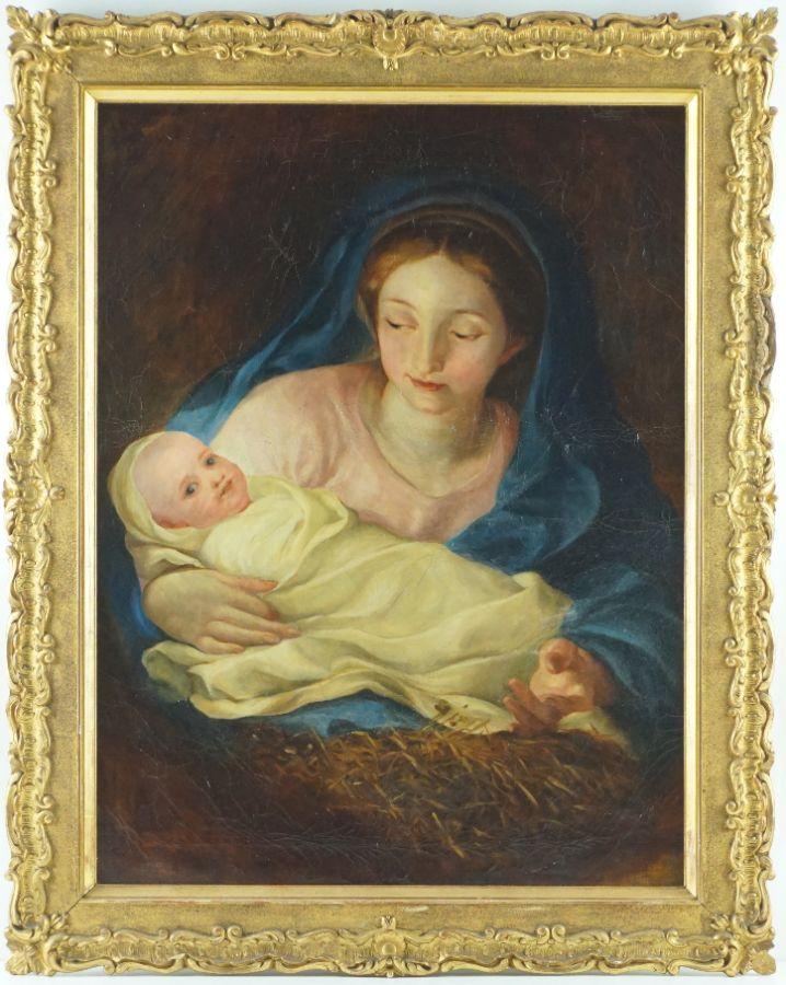 Mulher com O Menino (Nossa Senhora?)