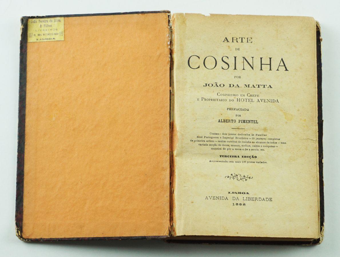 João da Matta – Arte de Cosinha (1888)