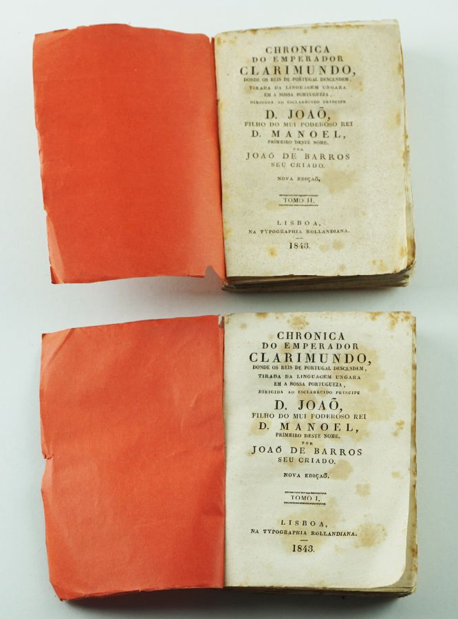 Chronica do Emperador Clarimundo (1843)