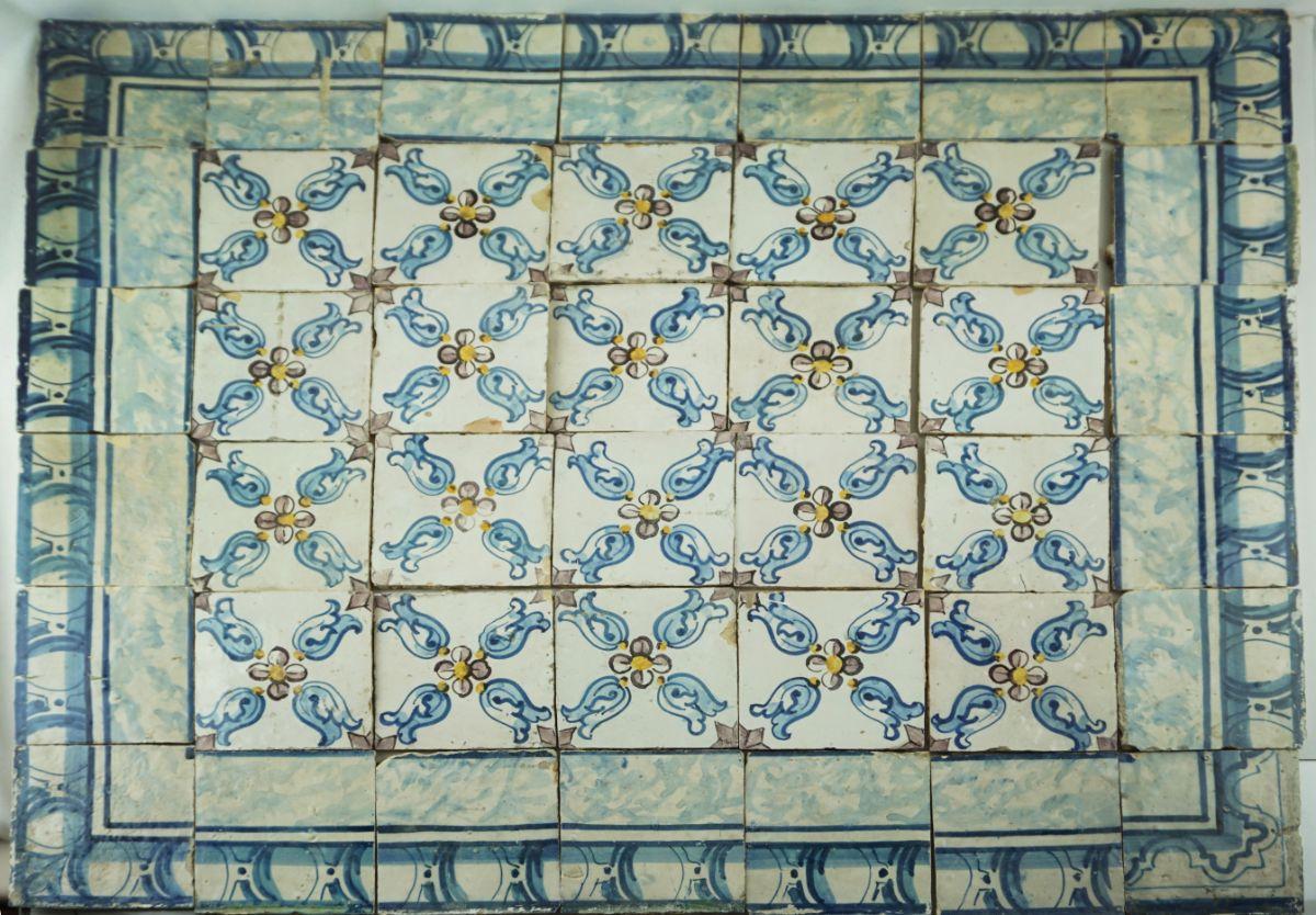 Painel de 42 Azulejos