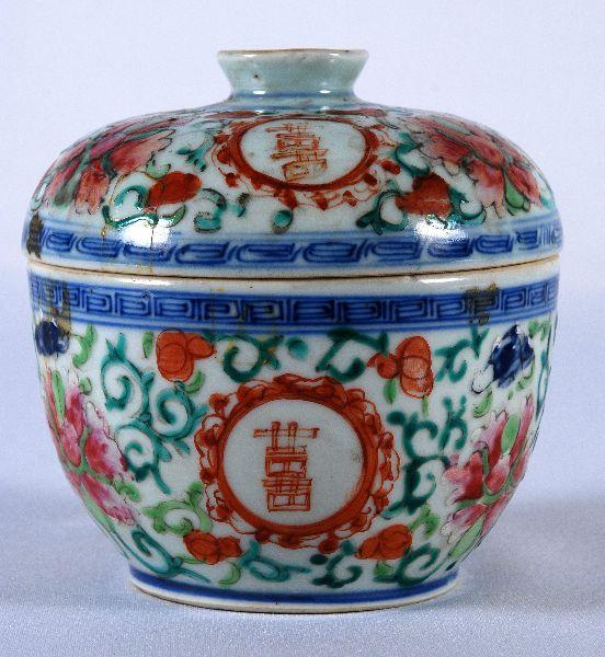 Caixa em Porcelana da China