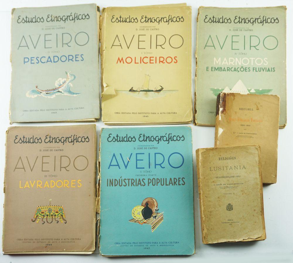 Livros sobre Etnografia Portuguesa