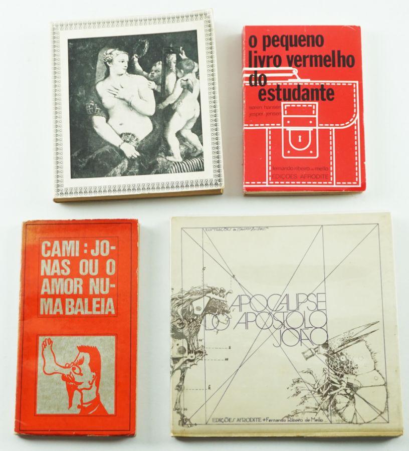 Edições Afrodite - Fernando Ribeiro de Mello