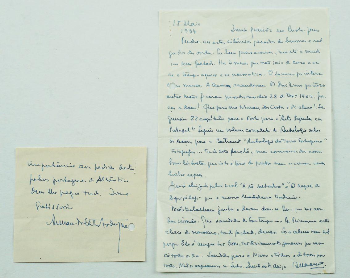 Armando Cortes Rodrigues – manuscrito