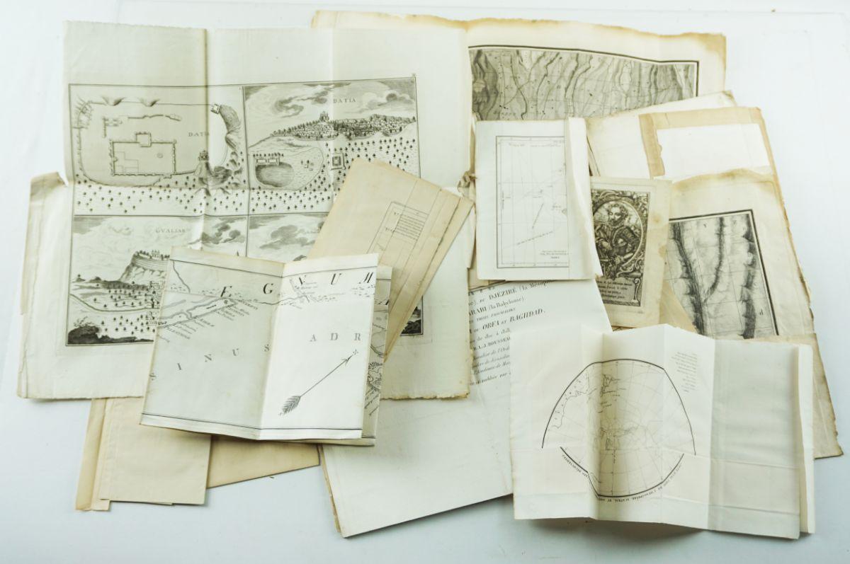 Mapas e Gravuras Séc. XVIII e XIX