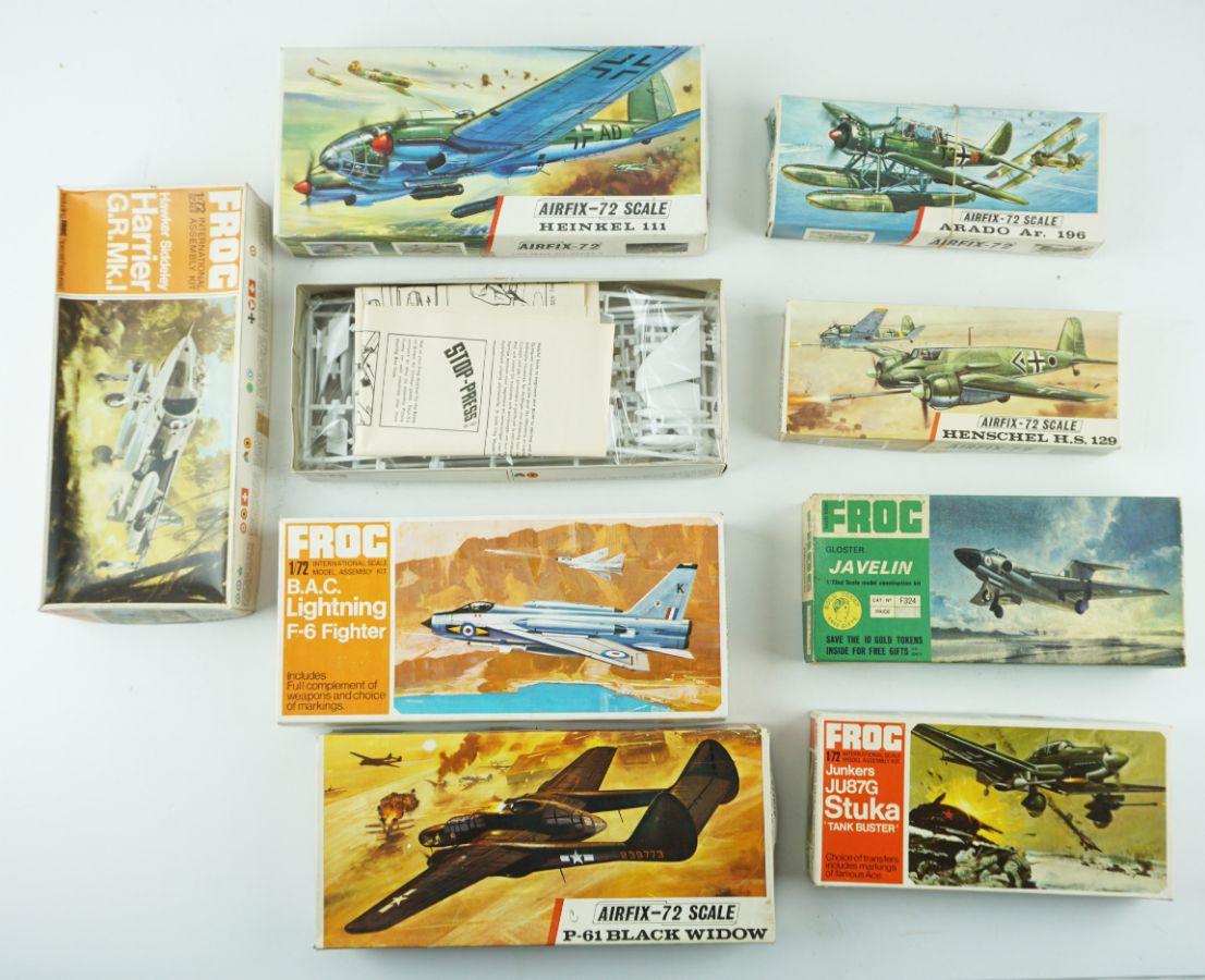 8 Maquetes de Avião