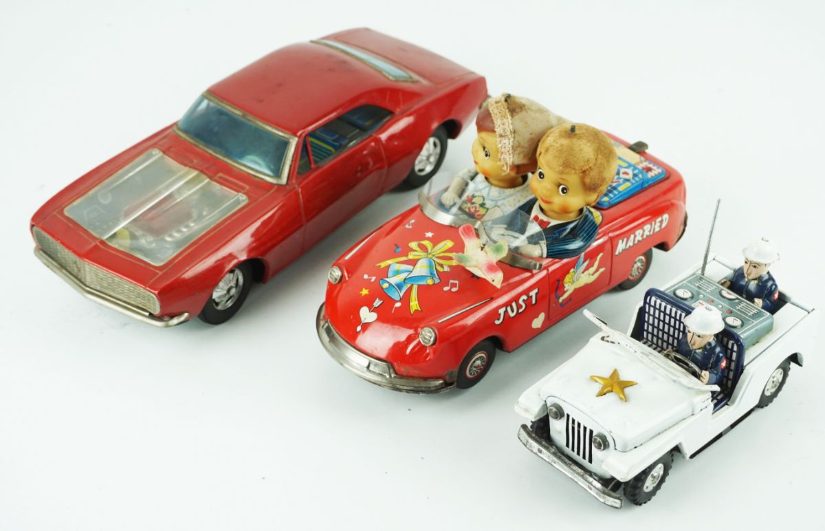3 Carros Brinquedo