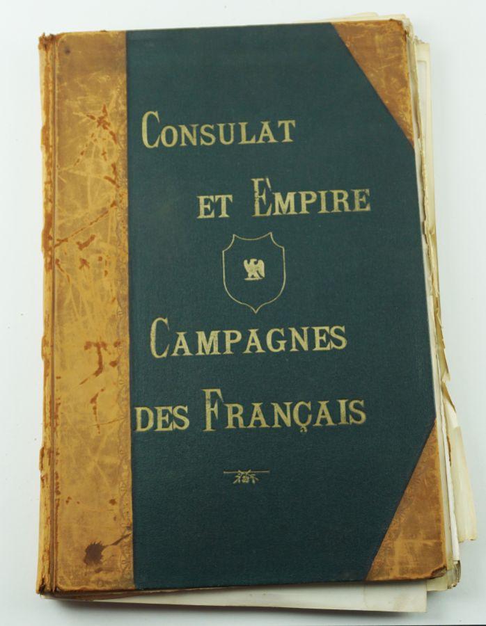 Álbum de gravuras sobre as Guerras Napoleónicas
