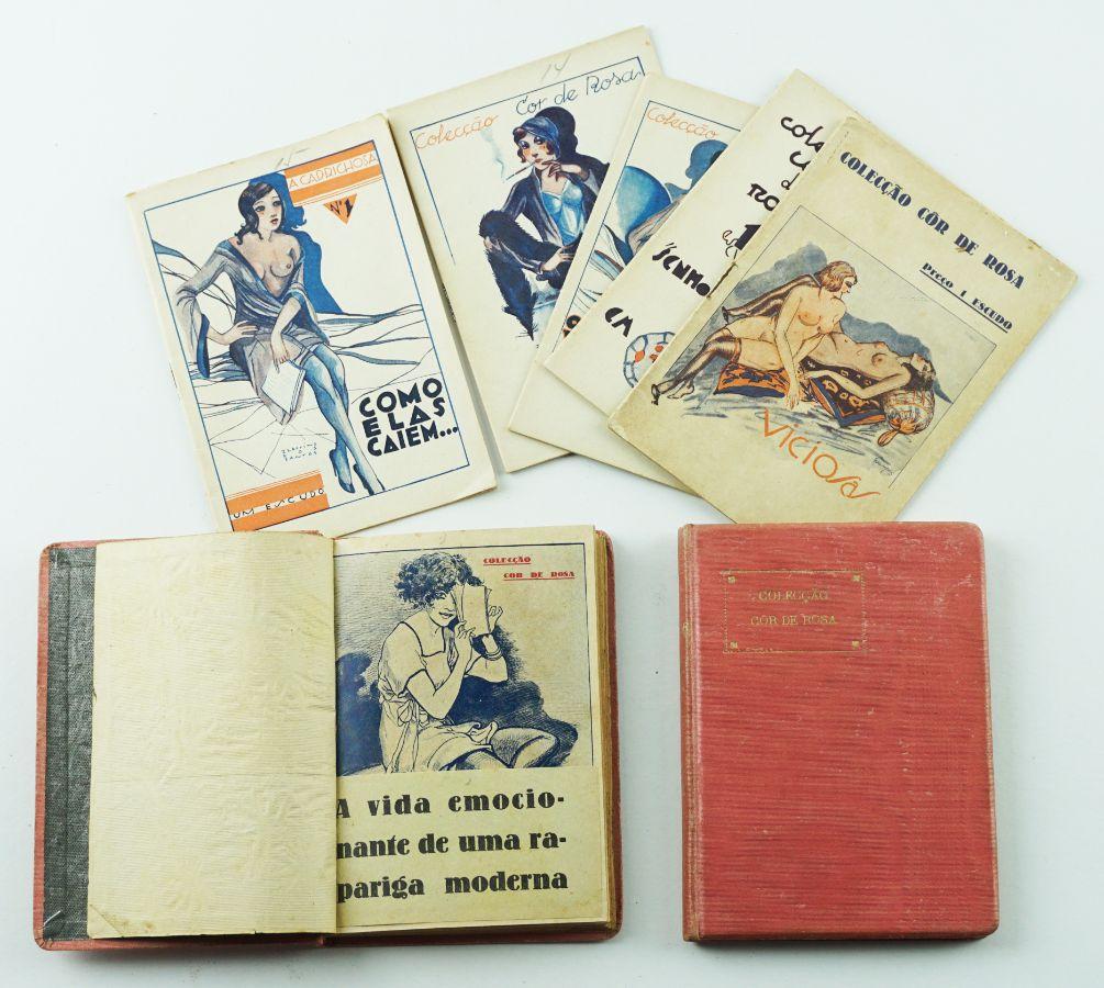 Novelas róticas – Colecção Cor de Rosa completa (1931)