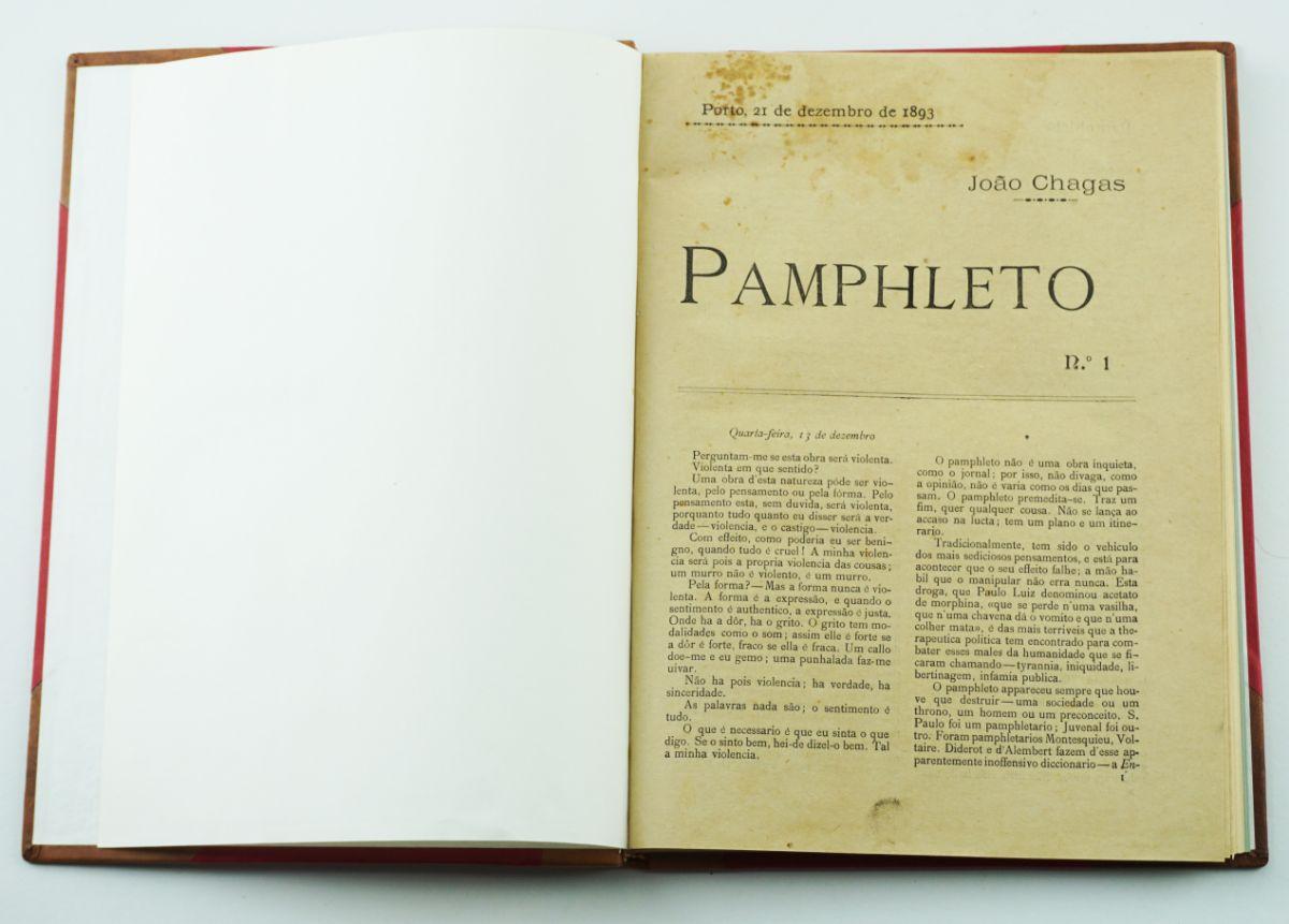 Os Panfletos de João Chagas (1893-1894)