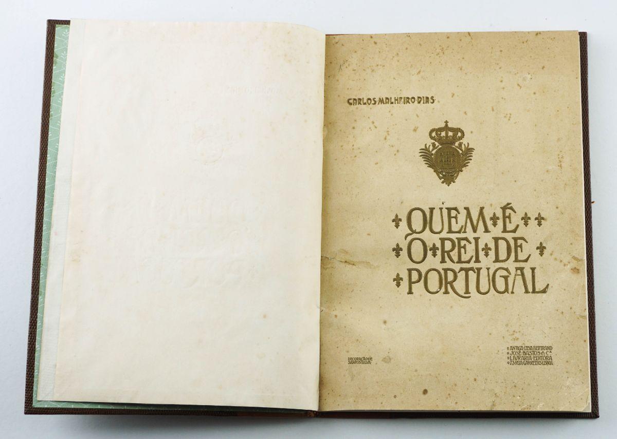 Bela obra sobre D. Manuel II (1908)
