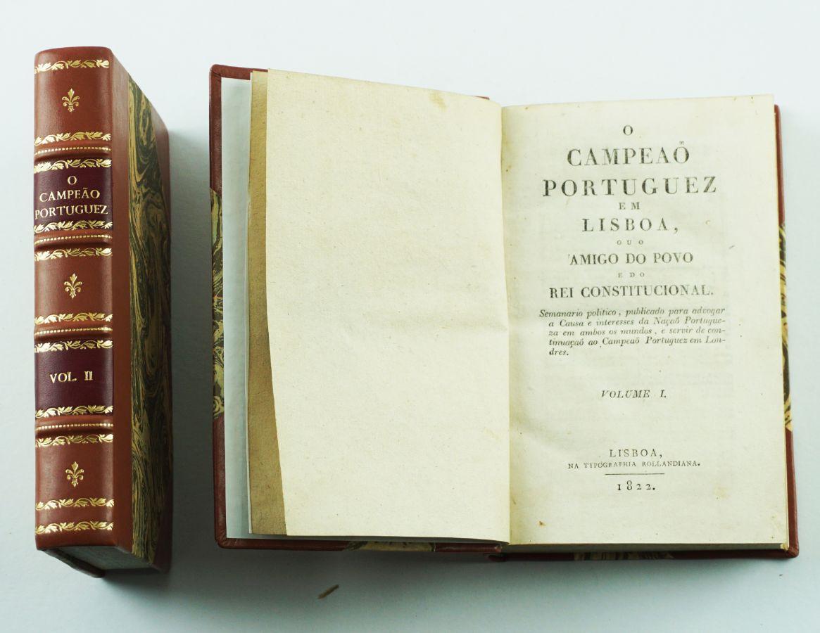 José Liberato Freire de Carvalho - O Campeão Português em Lisboa (1822)