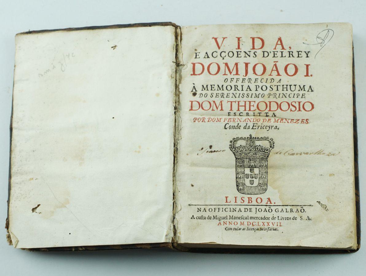 D. Fernando de Menezes 2º Conde da Ericeira (1677)