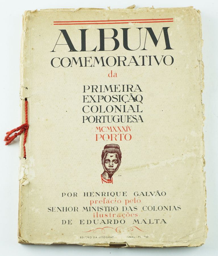Album Comemorativo da Primeira Exposição Colonial Portuguesa