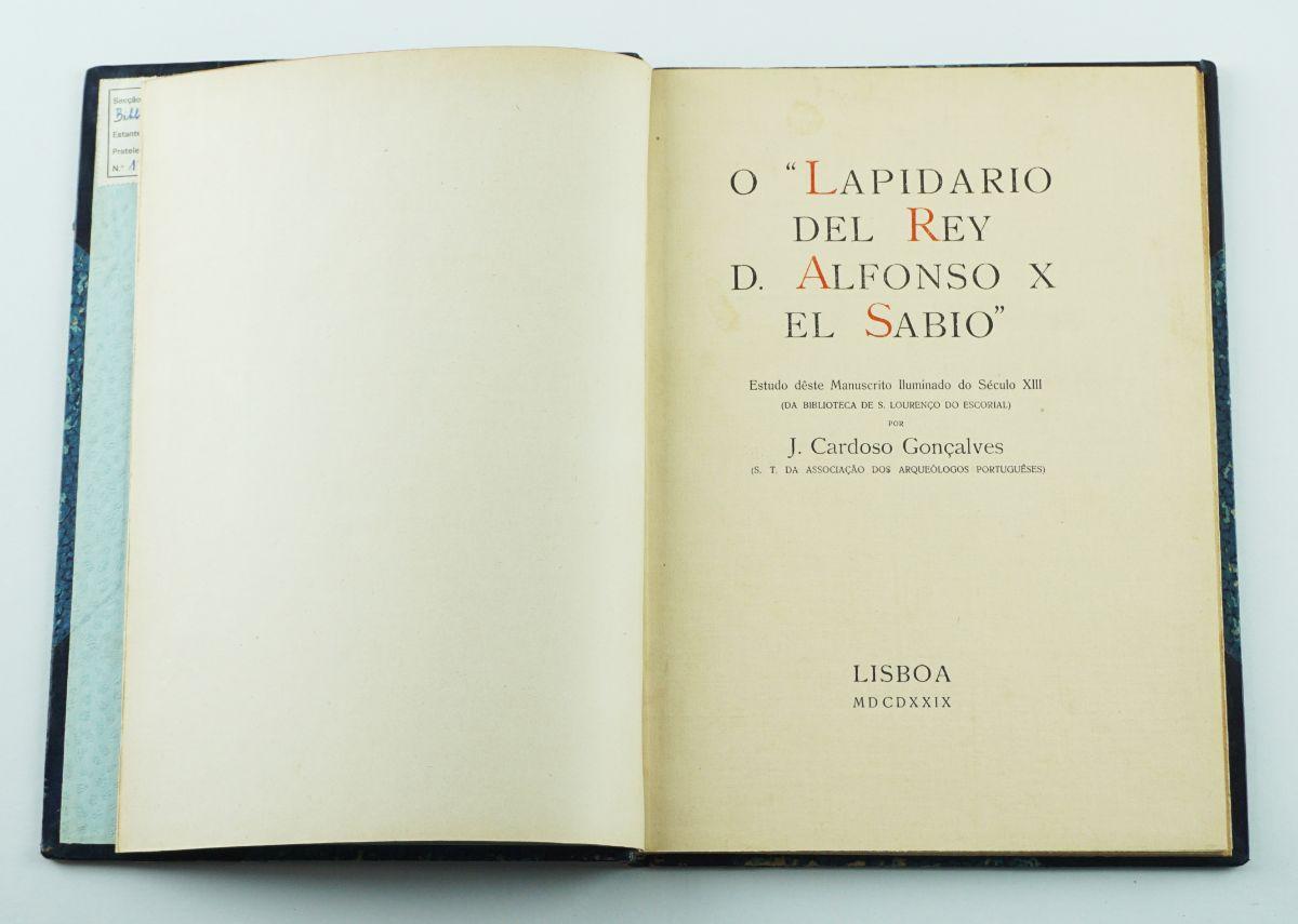 O Lapidário Del Rey D. Alfonso X El Sábio