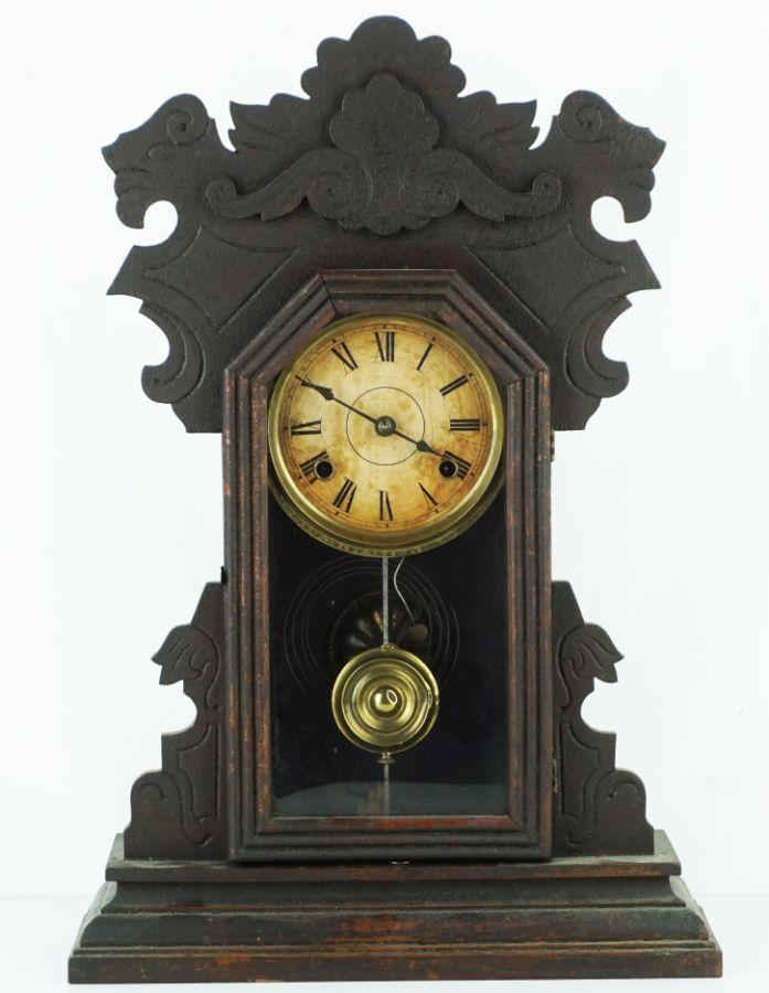 Relógio de mesa tipo carrilhão (ou de parede)
