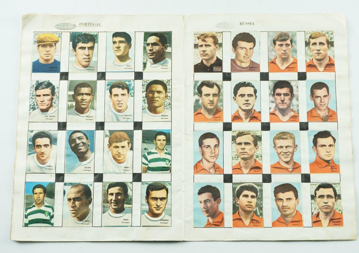 Caderneta dos Jogadores do Campeonato Mundial de Futebol 1966