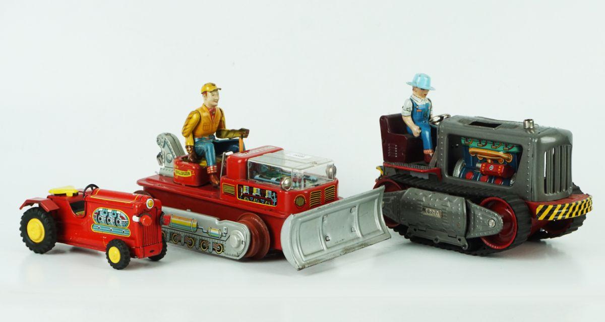 3 Máquinas Tractor Brinquedo