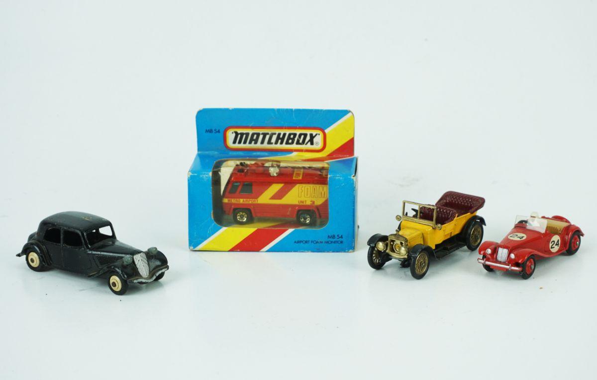 4 Carros miniatura