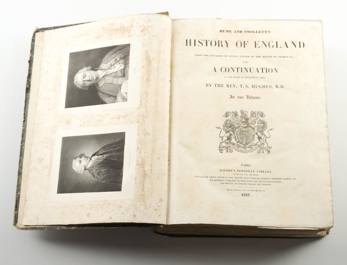 History of England, from the Invasion of Julius Chesar to the death of George II