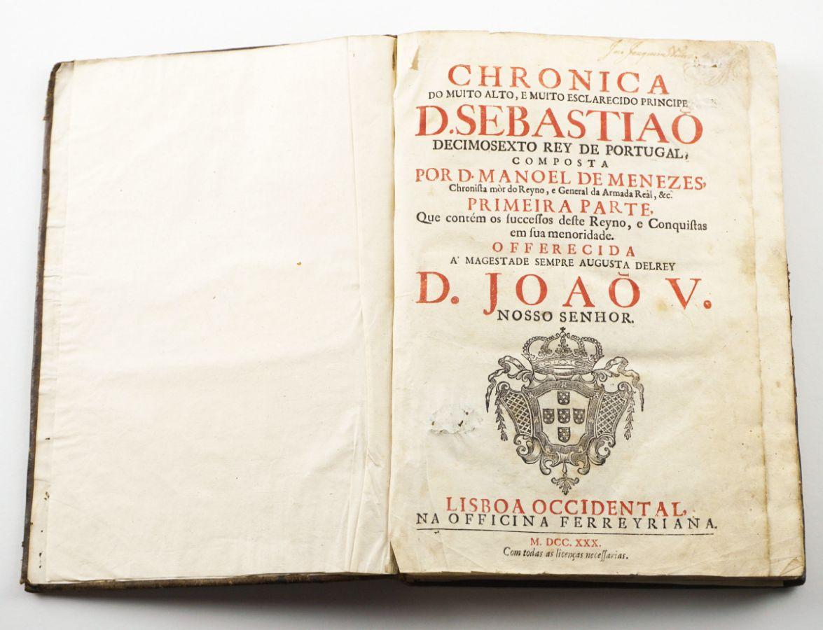 Chronica de D. Sebastião (1730)