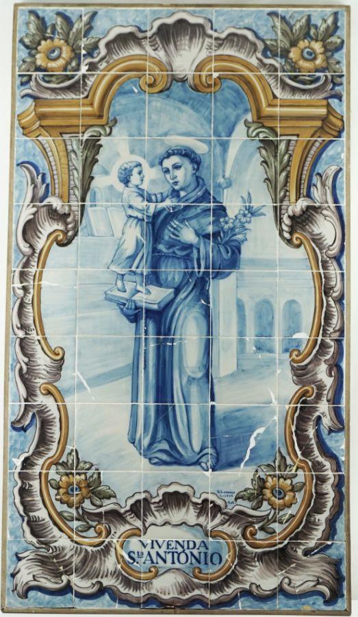 Painel de 36 Azulejos