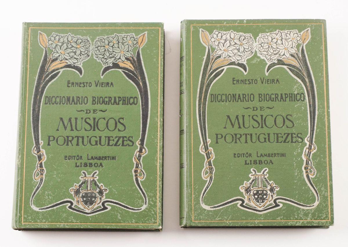 Dicionário de Músicos Portuguesas (1900)