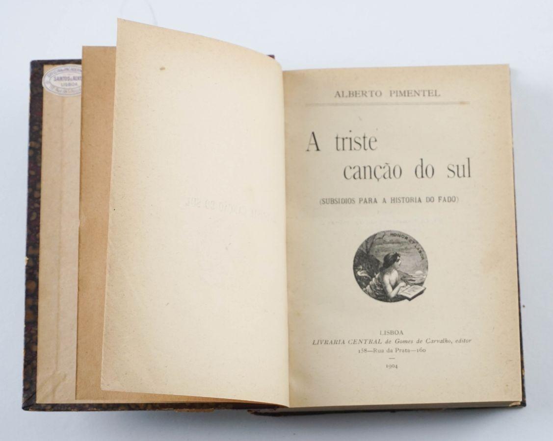Alberto Pimentel, A Triste Canção do Sul