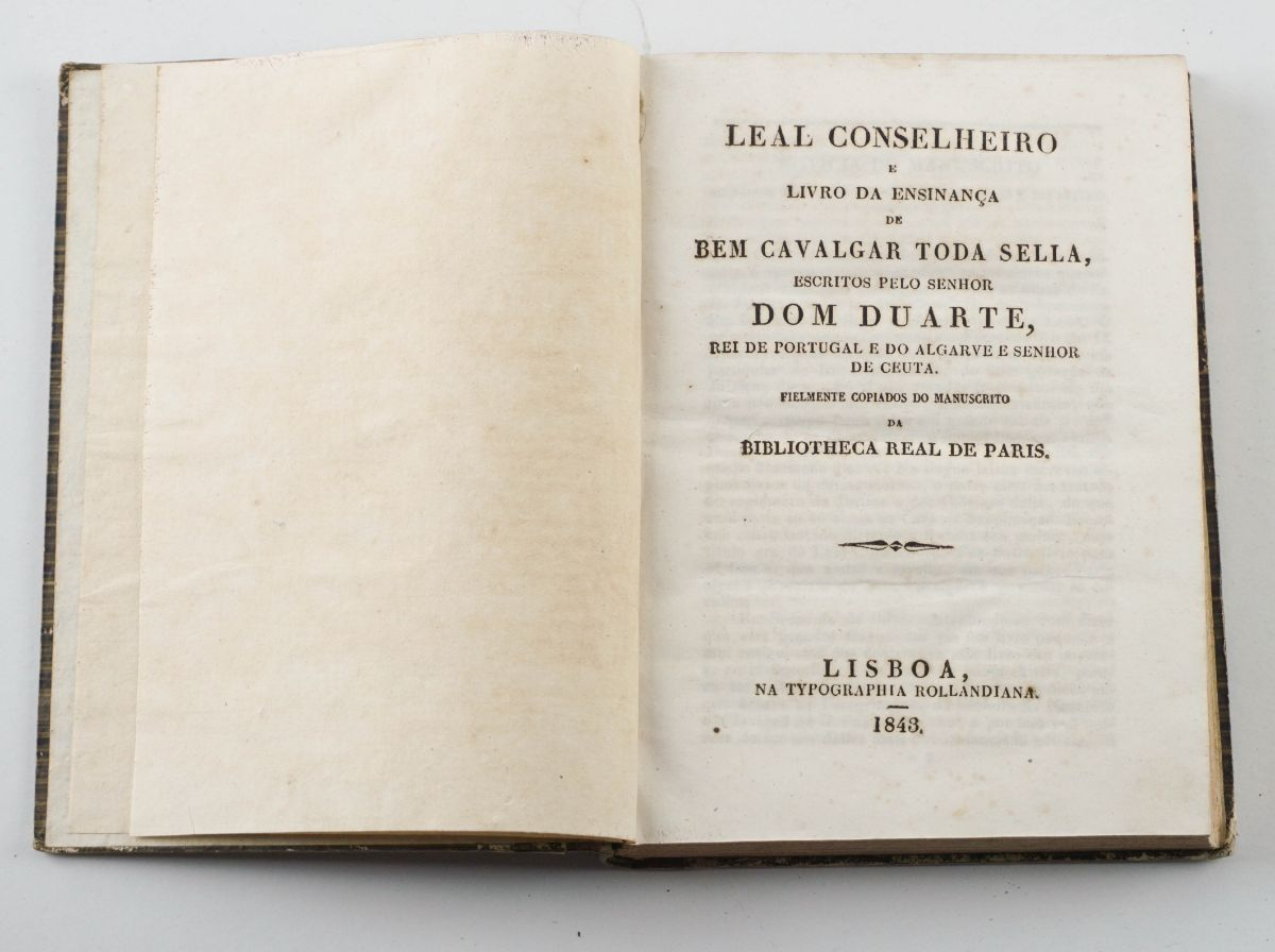 Leal Conselheiro e Livro da Ensinança, Dom Duarte
