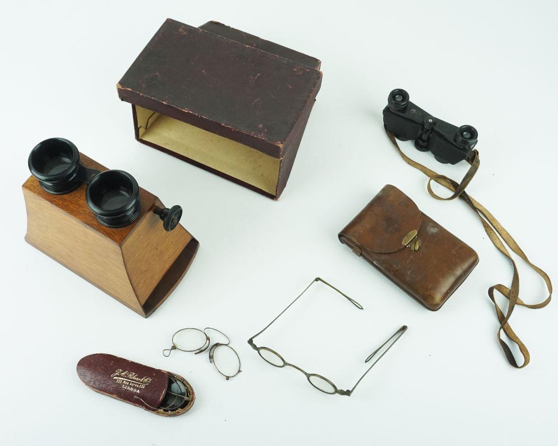 Diversos aparelhos de óptica