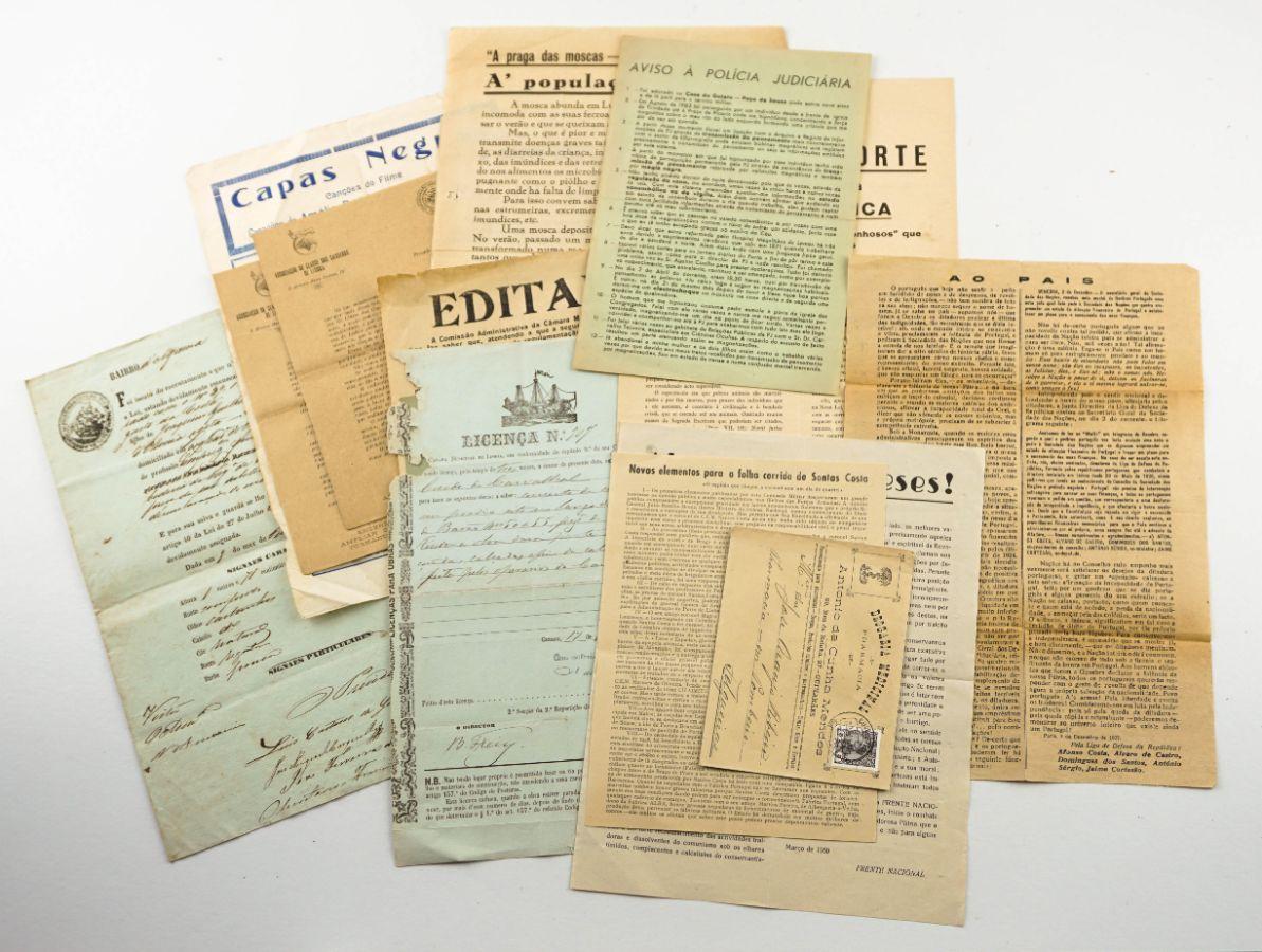 Colecção de manifestos, publicações e papeis diversos