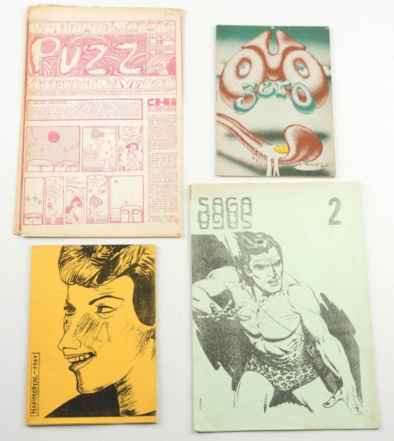 Conjunto de Fanzines raras