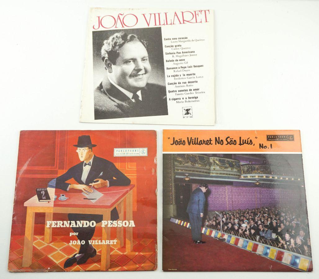 Discos de Poesia – João Villaret