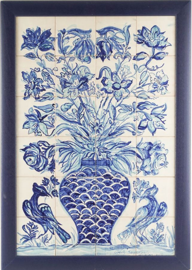 Painel de 24 Azulejos