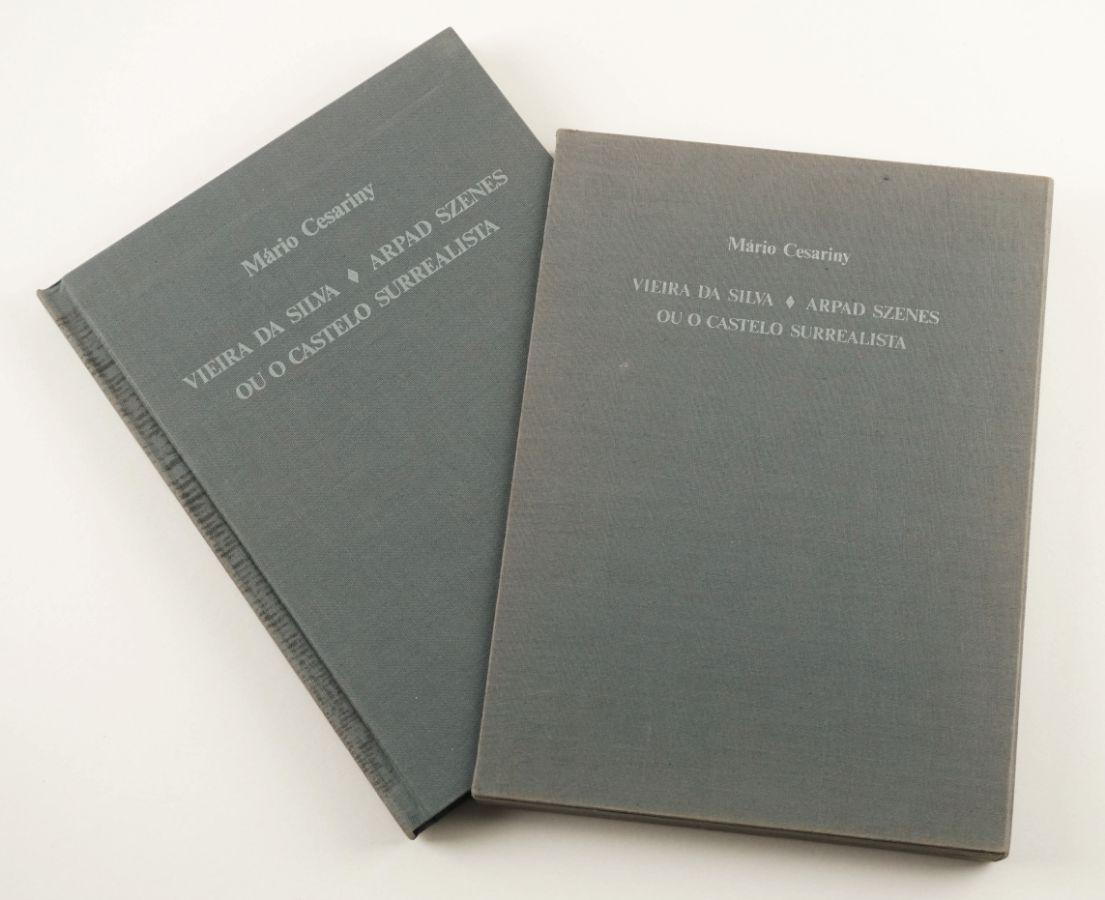 Vieira da Silva e Arpad Szenes - Tiragem especial com serigrafias