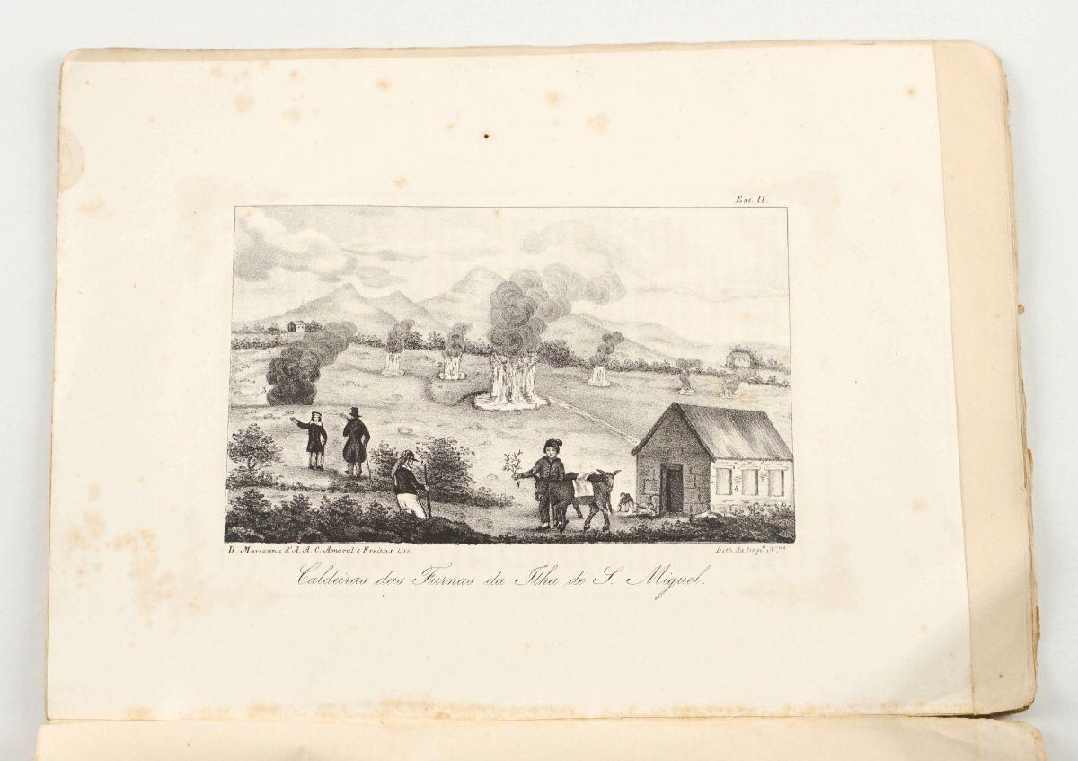 Uma Viagem ao Valle das Furnas na Ilha de S.Miguel (1845)