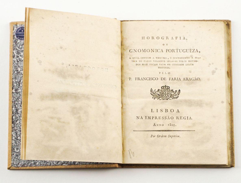 Horografia ou Gnomonica Portugueza (1805)