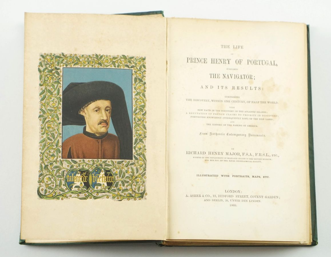 The Life of Prince Henry of Portugal (1868)