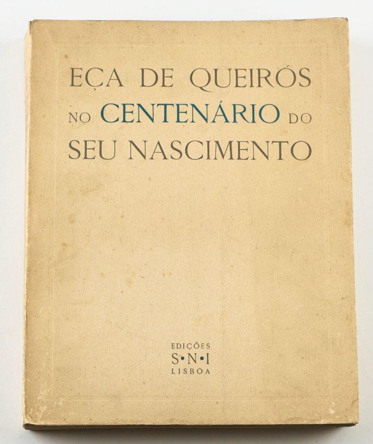 Eça de Queiroz no Centenário do seu Nascimento