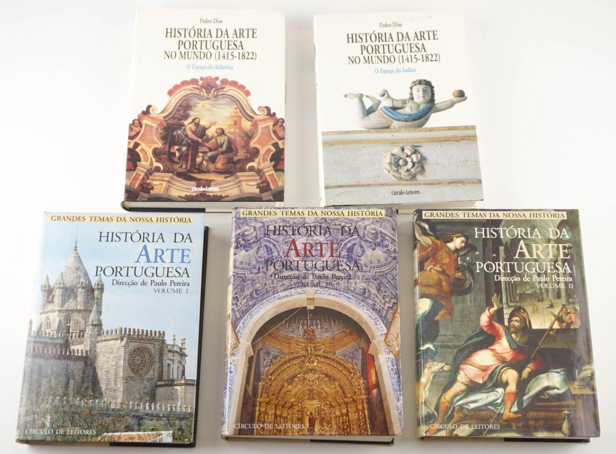 História da Arte Portuguesa e História da Arte Portuguesa no Mundo
