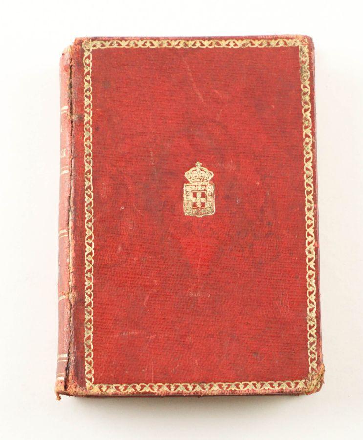Encadernação com escudo real português