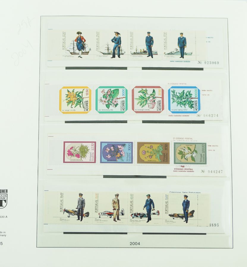 Álbum de selos linder
