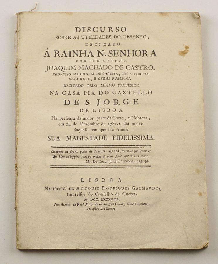 Machado de Castro- 1788