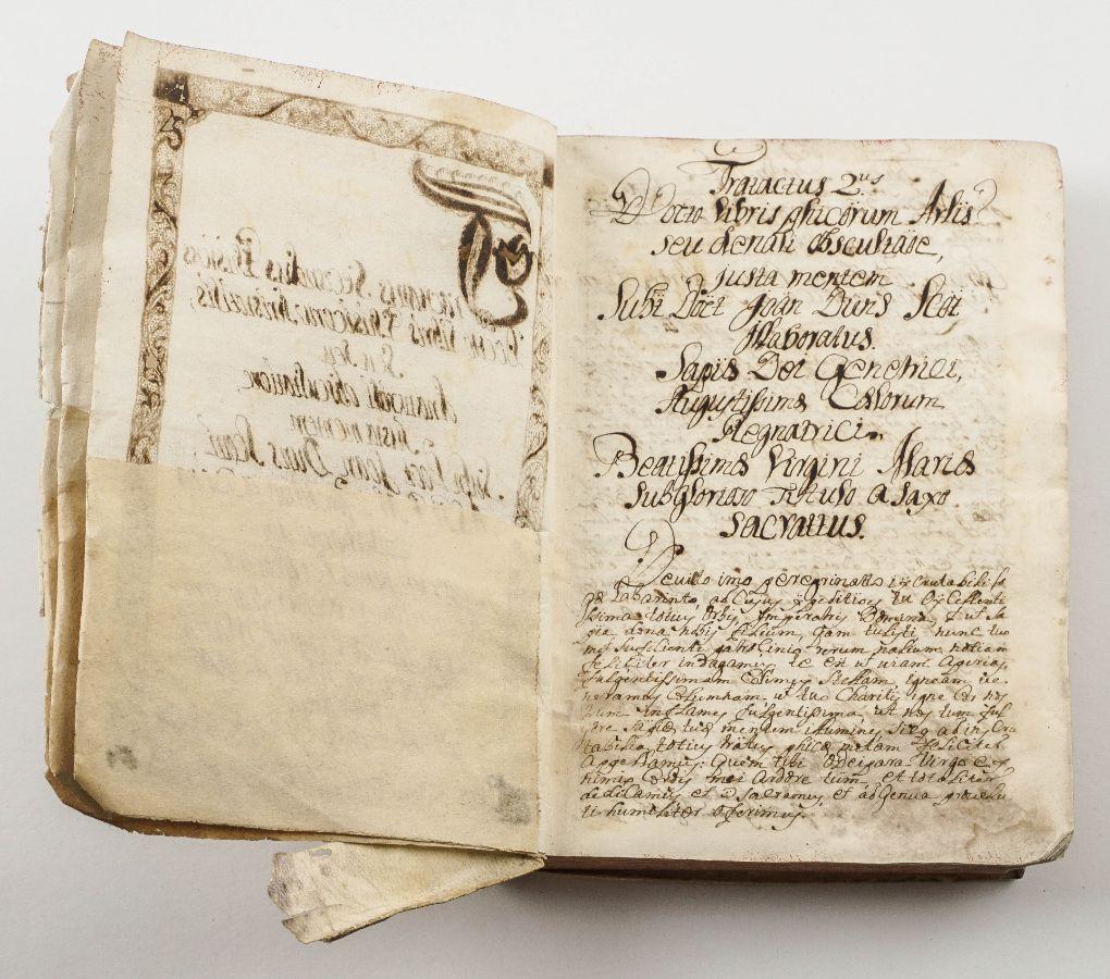 Manuscrito. Tratado de Física. 1730.