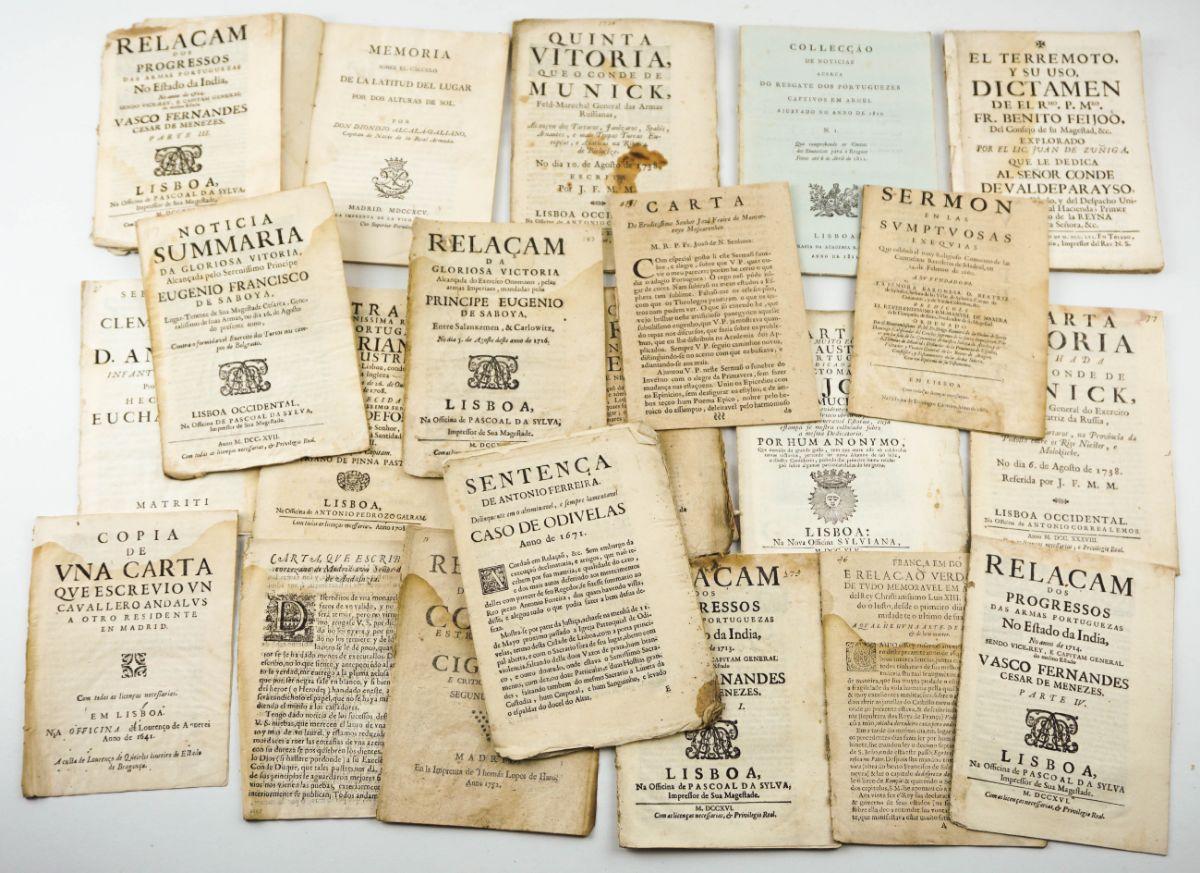 Relações e folhetos dos séculos XVII E XVIII