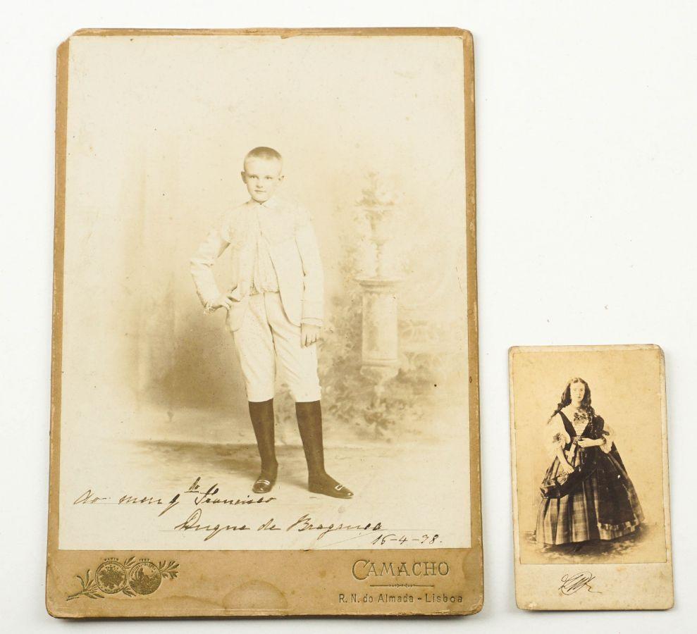 Fotografias da Família Real Portuguesa.