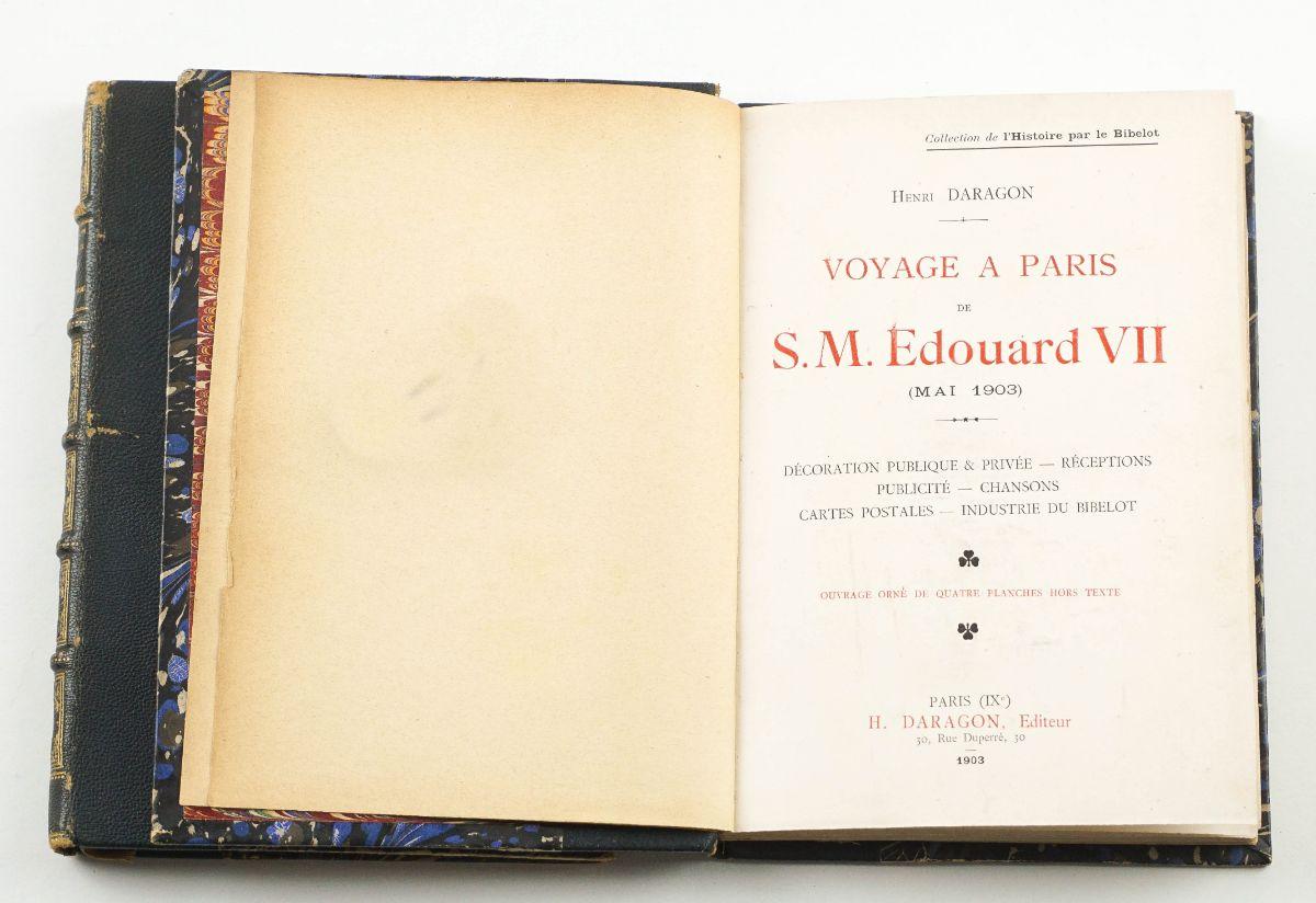Eduardo VII e Czar da Rússia.