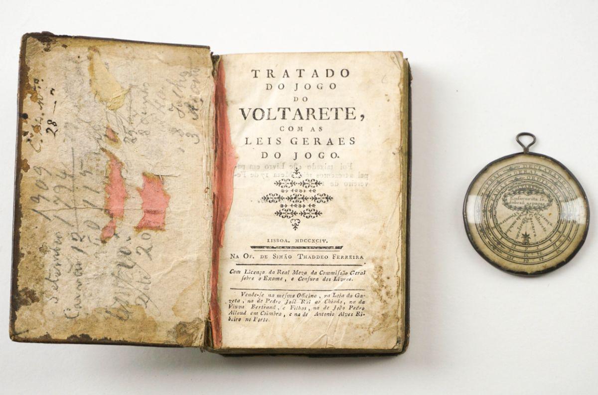 Tratado do jogo do Voltarete. 1794. Primeira Edição.
